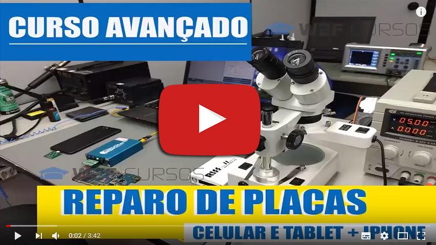 Especialização Avançada em Reparo de Placas – Celulares – Tablets